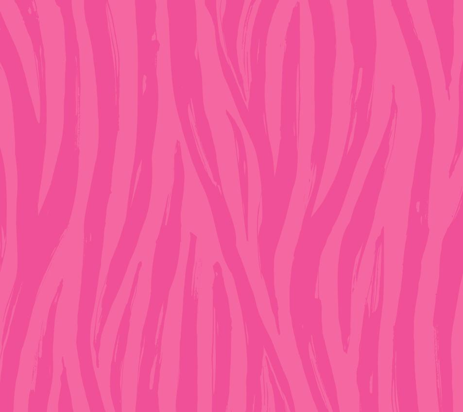 Pink Zebra Stripe