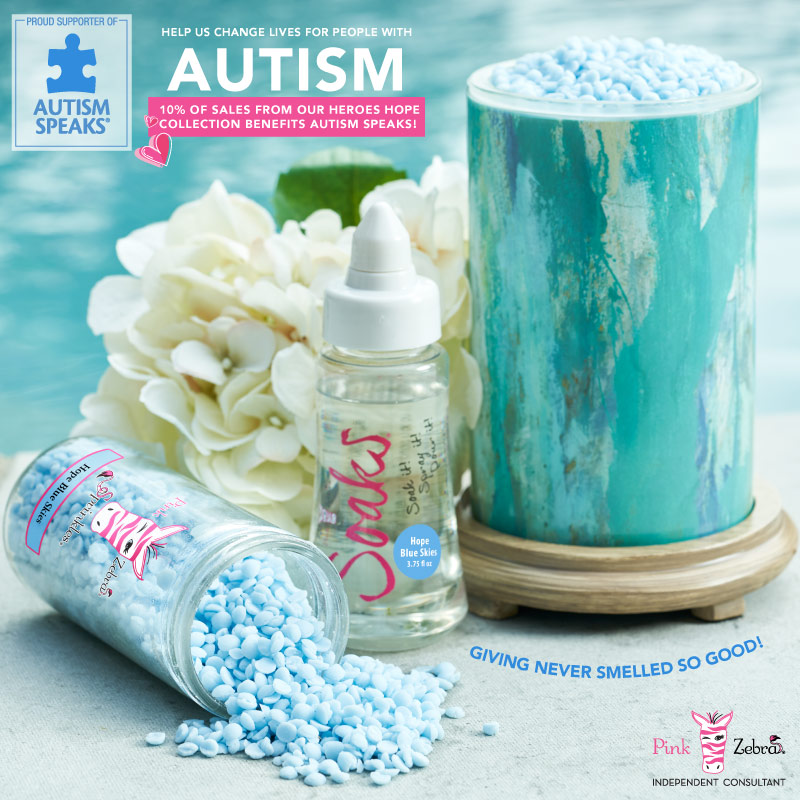 Hope Candle Collection for Autism Speaks
