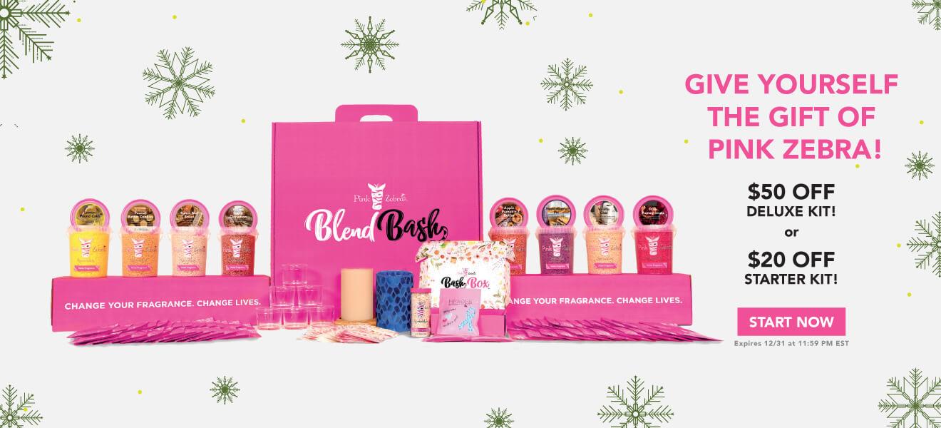 Pink Zebra Kit Sale Graphic