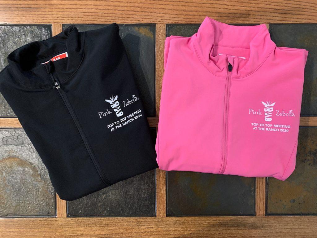 Pink Zebra director jacket