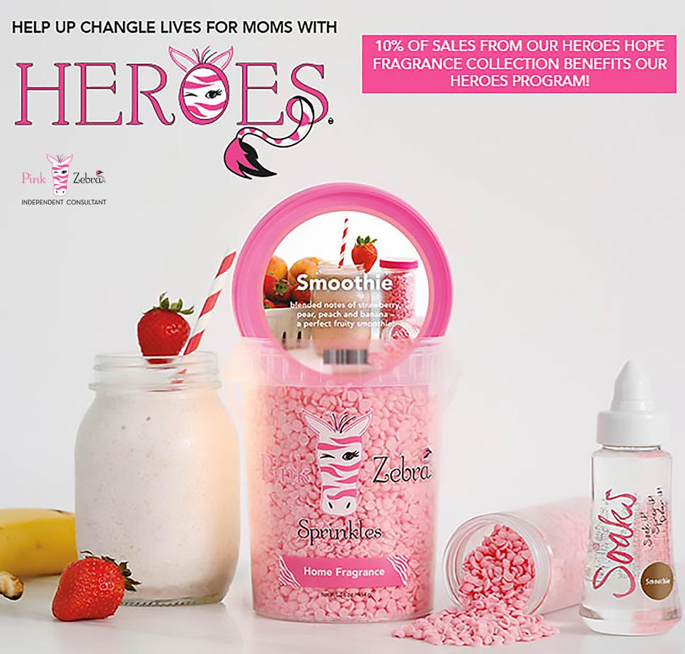 Pink Zebra Heroes