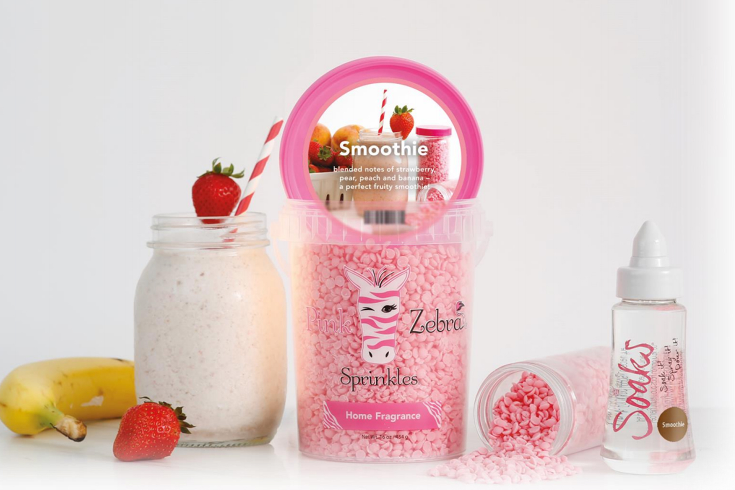 pink zebra hope smoothie