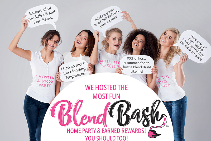 pink zebra blend bash graphic