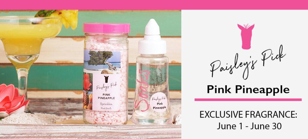 June Pink Zebra Paisley's Pick