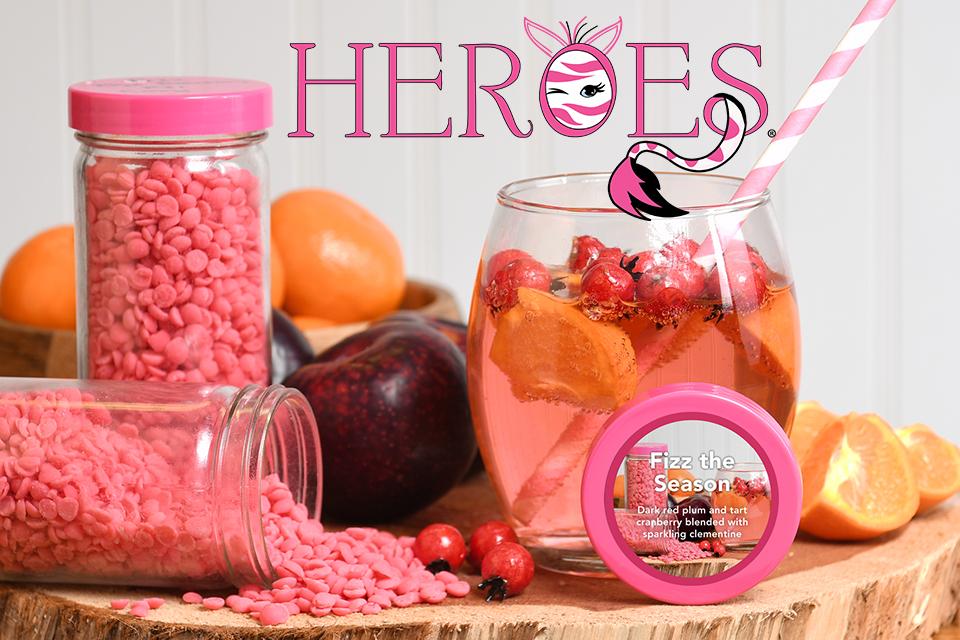 Heroes Program Pink Zebra